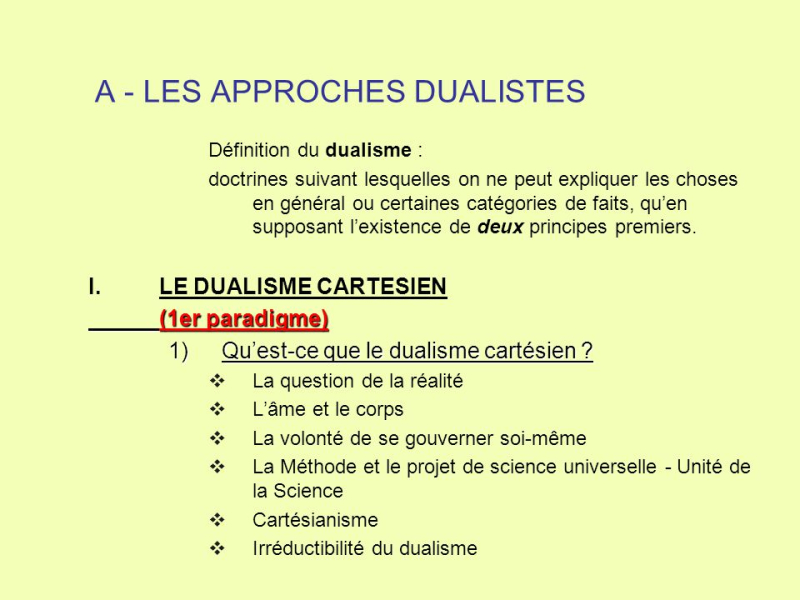A+-+LES+APPROCHES+DUALISTES