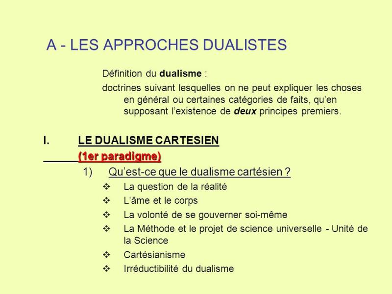 A+-+LES+APPROCHES+DUALISTES