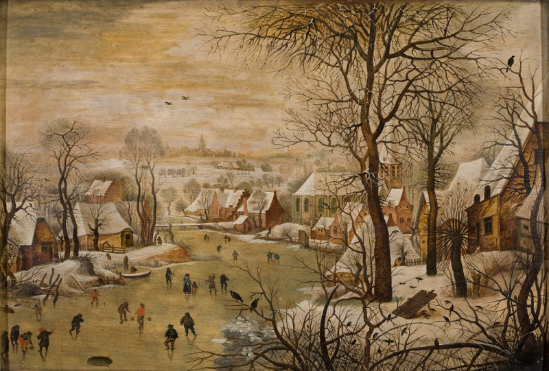 7.-Pieter-Brueghel-le-Jeune-Paysage-dhiver-avec-trappe-aux-oiseauxTournai
