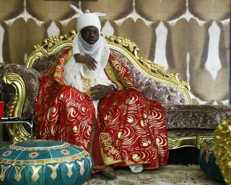 Le roi de Jiwa  Alhaji Idris Musa REUTERS Afolabi Sotunde