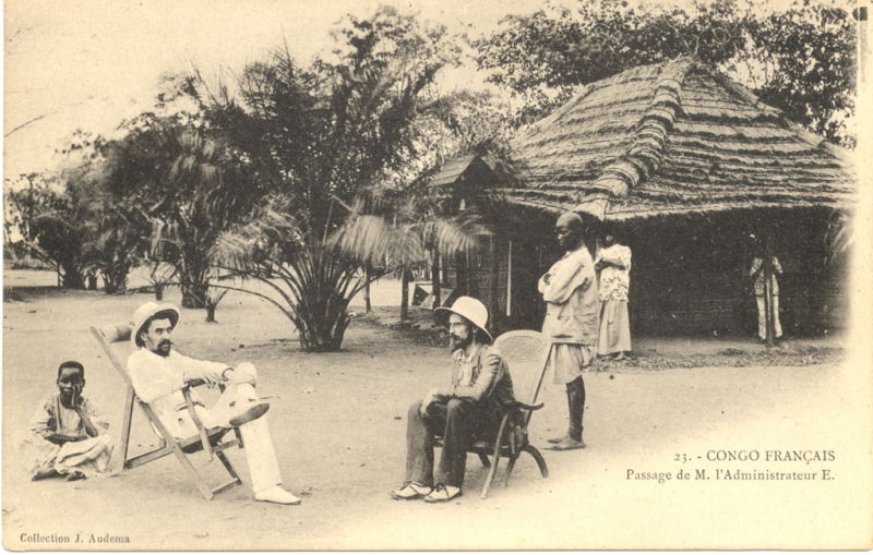 French_Colonial_administrator_Congo_1905.jpg DOMAINE PUBLIC