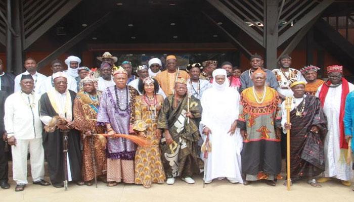 Les chefs d'aditionnels en cote d'ivoire africa.net