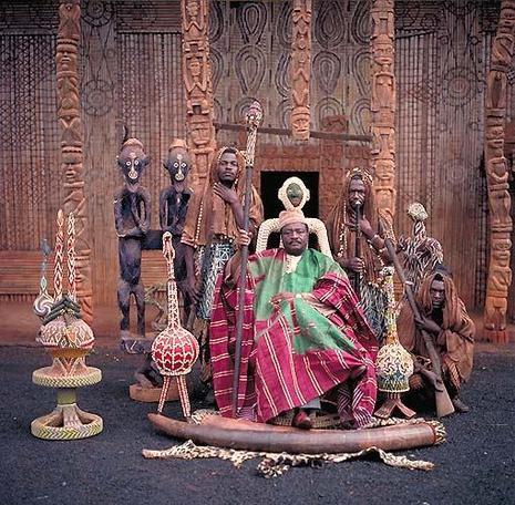 Les rois d'Afrique par le photographe Daniel Lainé.