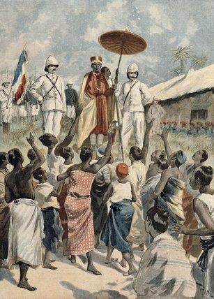 Oswaldo+Tofani-Proclamation+Of+The+New+King+Of+Dahomey