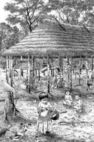 PEUPLE AMERINDIEN INDIENS DES AMERIQUES