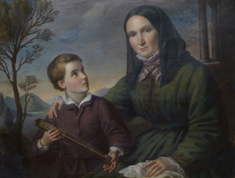 Alexander_von_Humboldt_and_Mother