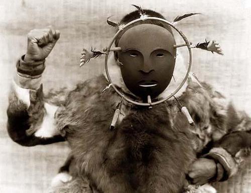 Eskimoceremonialmask